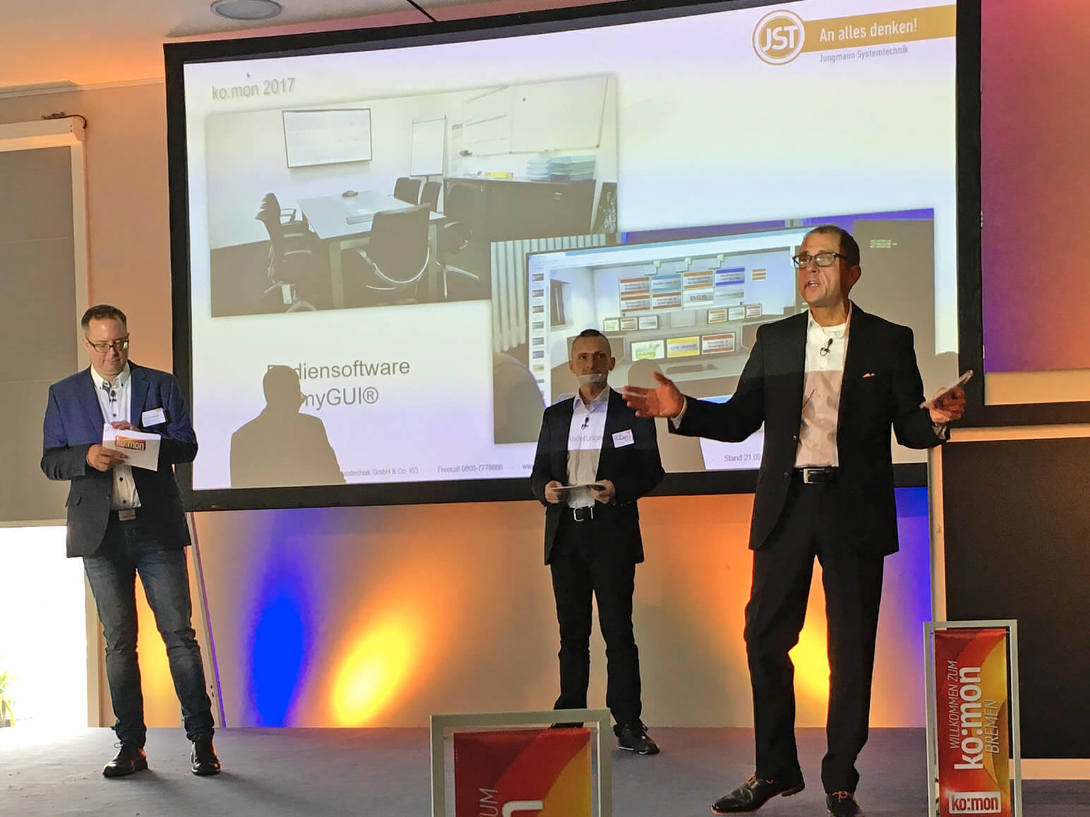Kongress für Kontrollraumtechnik & Monitoring-Systeme ko:mon 2017 in Bremen