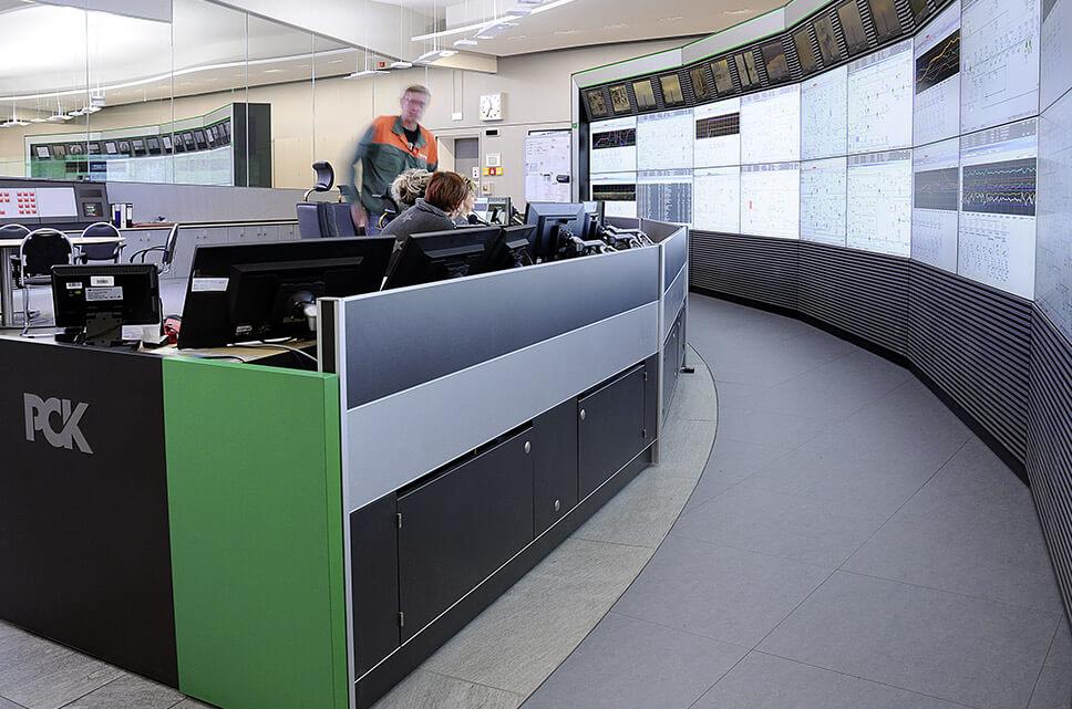 Jungmann Systemtechnik - Leitwarte PCK Schwedt