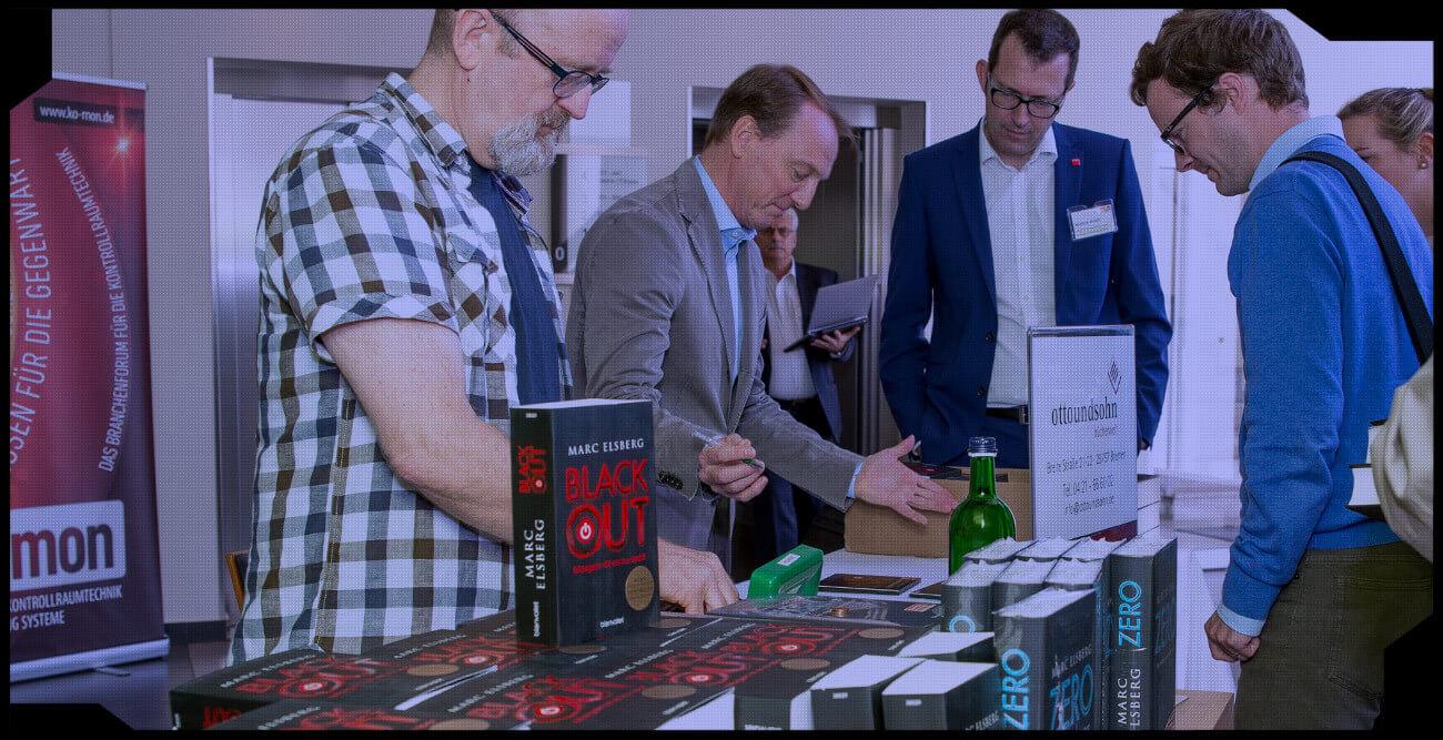 """Signierstunde mit dem """"BLACKOUT""""- und """"ZERO""""-Bestseller-Autor Marc Elsberg"""